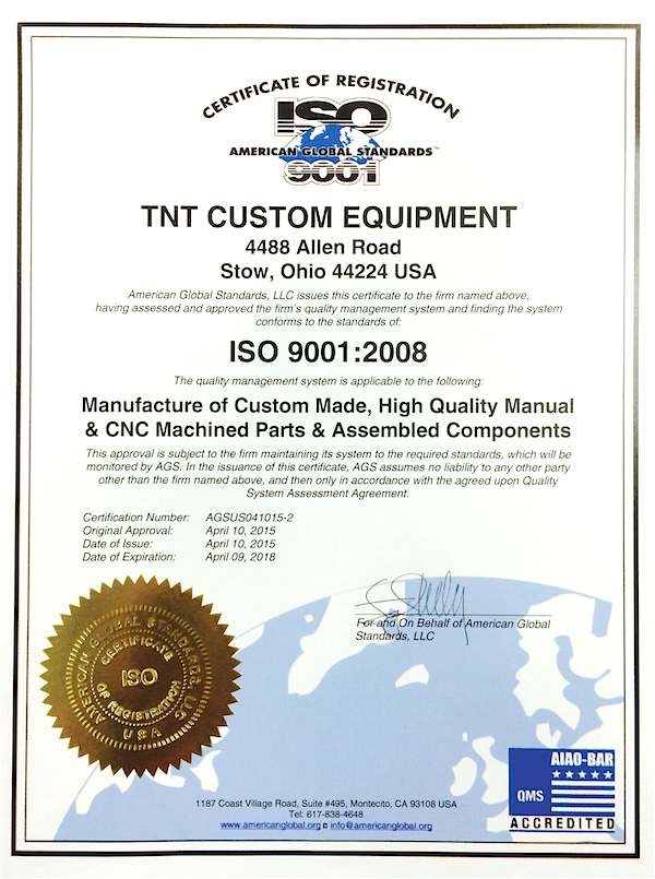 TNT Cert Small